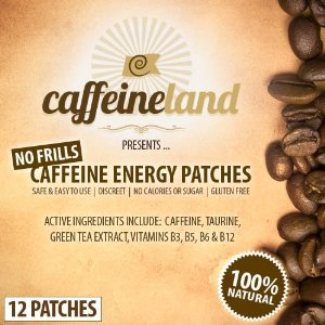 Caffeine Energy Patches
