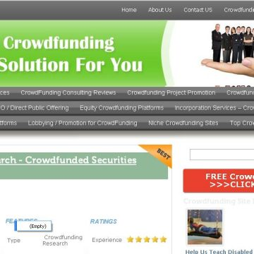 How to find the best Crowdfunding Organization?