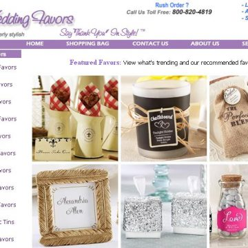Fall Wedding Favor Inspirations