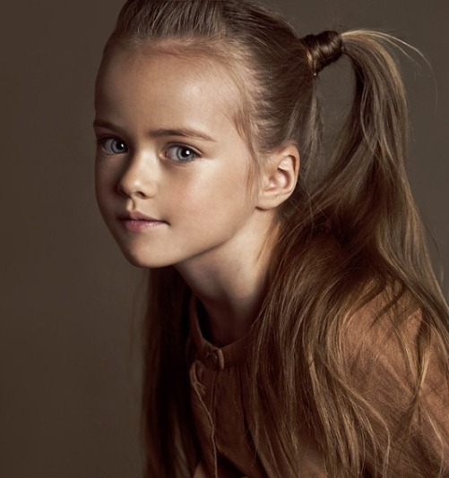 Kristina Pimenova. the Most Beautiful Girl in The World
