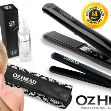 OzHead's Hair Straightener Goody Box Is A Great Gift For Christmas