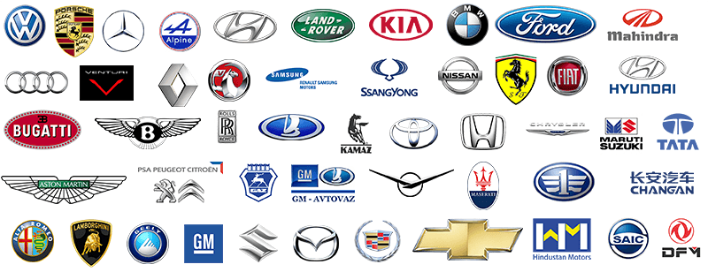 A Complete List of All Car Brands in One Place!