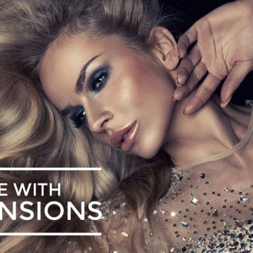 Luxurious Glamorous Hair With Seamless Hair Extensions – No damage to Your Natural Hair