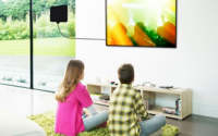 Amazontek Ultra-Thin Amplified Indoor HDTV Antenna Up to 50 Mile