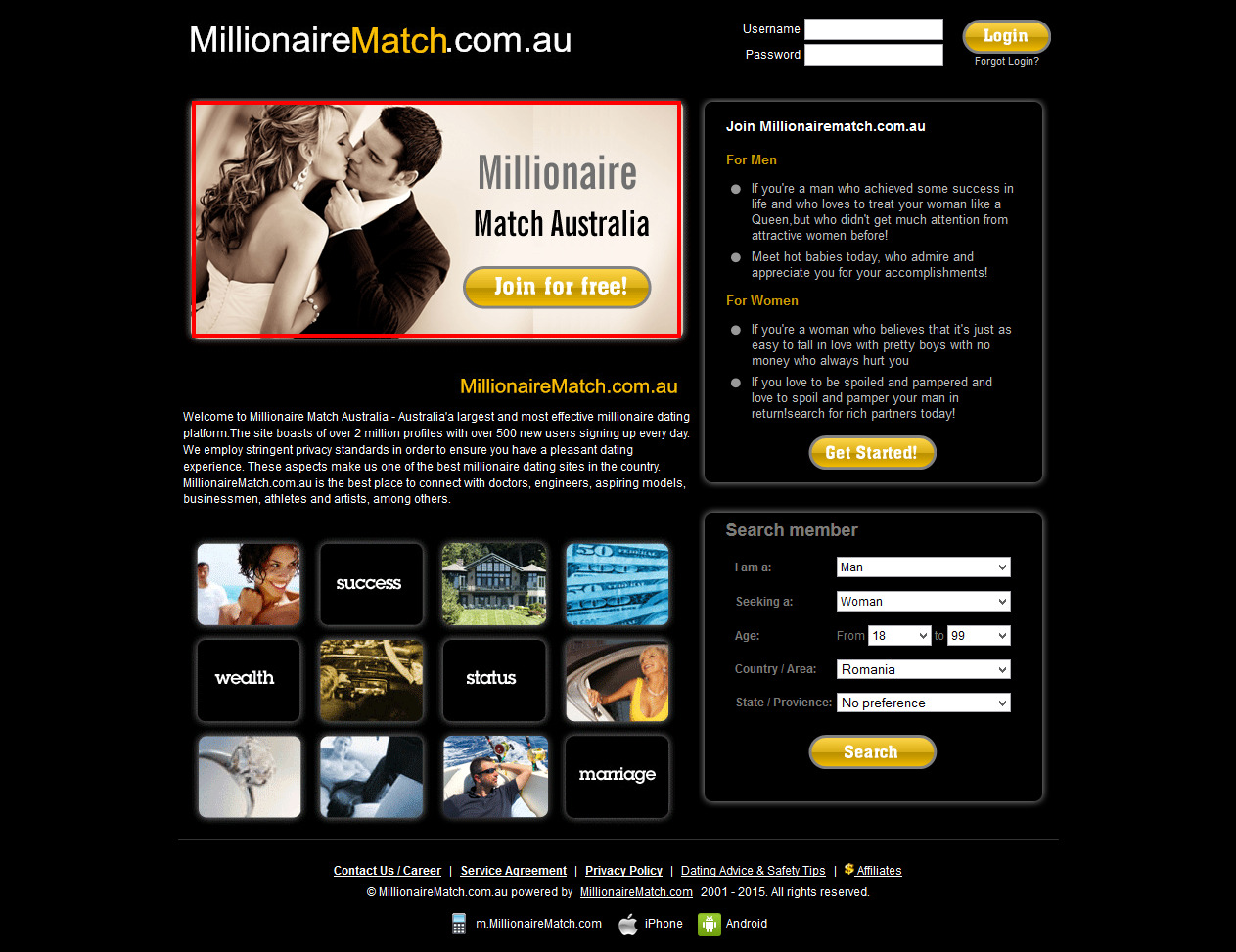 dating millionaires australia Dating sites for millionaires in australia full homo service includes a minimum number of introductions and a homo of services including grooming, .