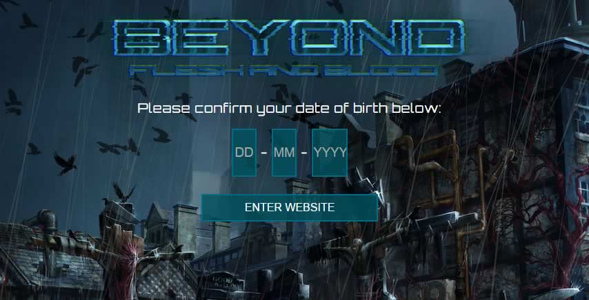 Beyond Flesh and Blood Takes Game Web Design to the Next Level