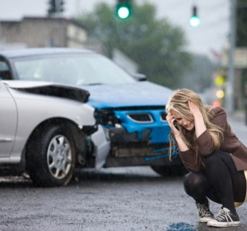 Car Accidents Caused by Defective Road Construction and Signs
