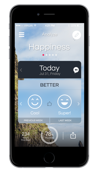 Analyze Life – Tracking our Happiness