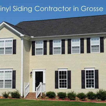 Siding Contractros in Grosse Ile Michigan